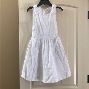 Kate Spade white eyelet youth size 12 dress